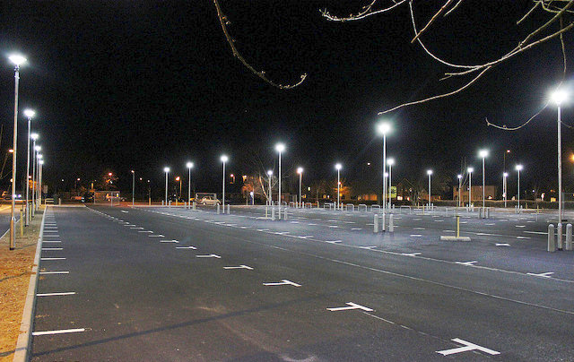 Car parks can use LED like these ones