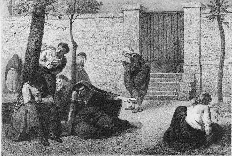 Eight women representing prominent mental diagnoses in the 19th century at the Salpêtrière (Paris). (fr. Armand Gautier)