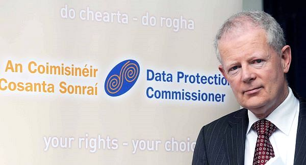Billy Hawkes Data Protection Commissioner