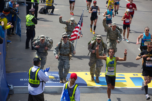 Tough Ruck finish line